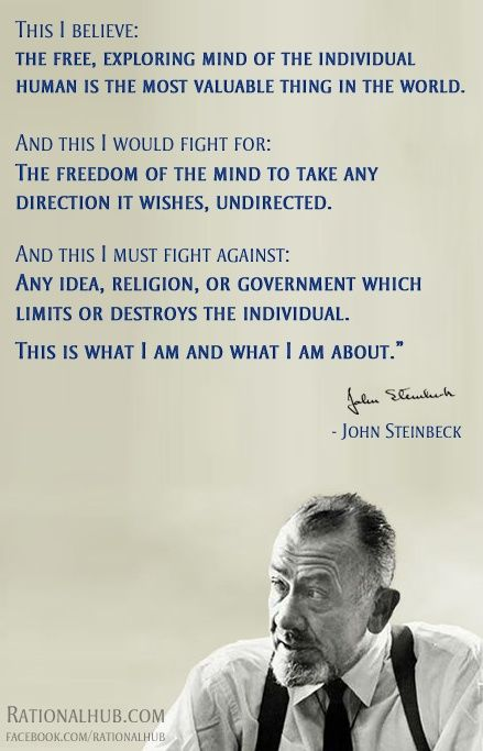 John Steinbeck Quotes Meme Image 09