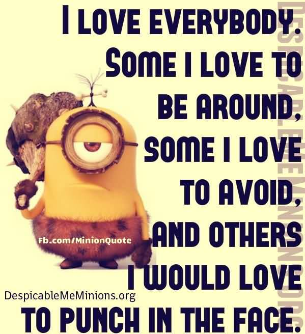 Captivating Minion Love Quotes Meme Image 16