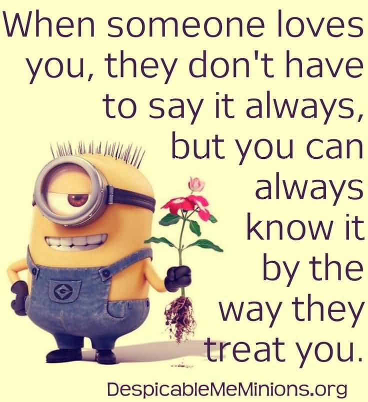 Wonderful Minion Love Quotes Meme Image 18