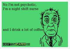 Night Shift Nurse Quotes Meme Image 02