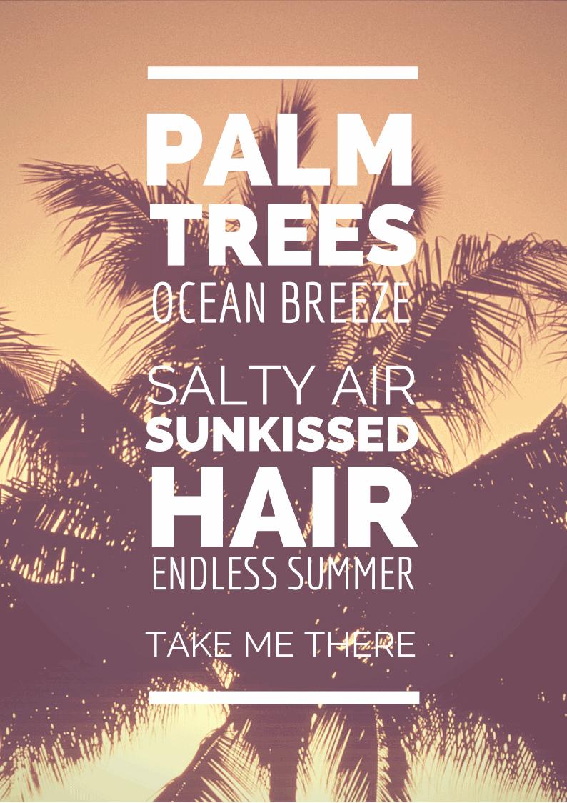 Palm Tree Quotes Meme Image 17