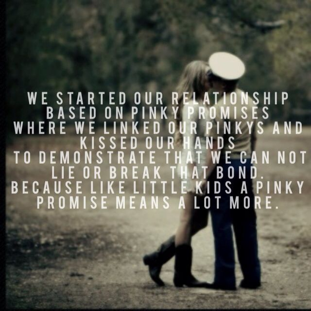 Pinky Promise Quotes Meme Image 17
