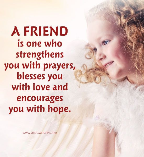 Prayers For A Friend Quotes Meme Image 08