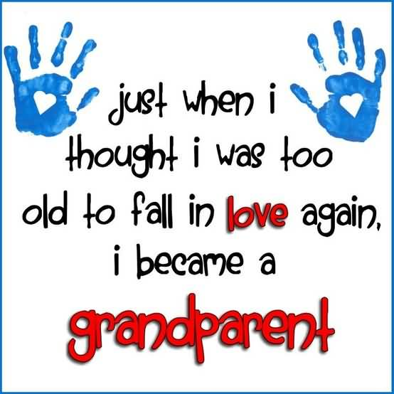 Quotes About Grandchildren Being A Blessing Meme Image 11