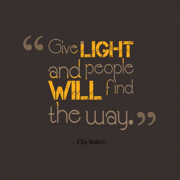 Quotes About Lights Meme Image 02
