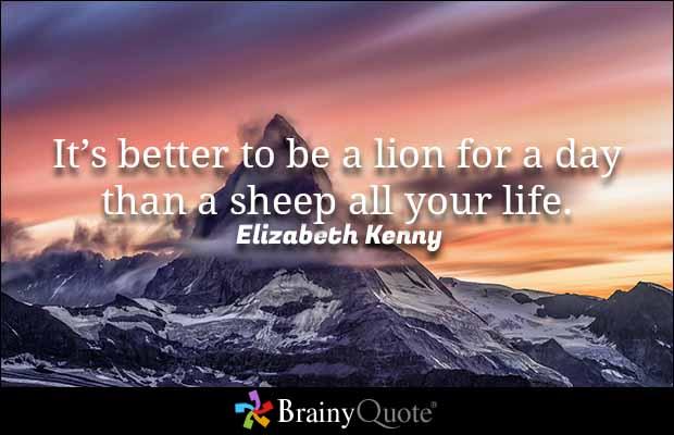 Quotes About Lions Meme Image 04
