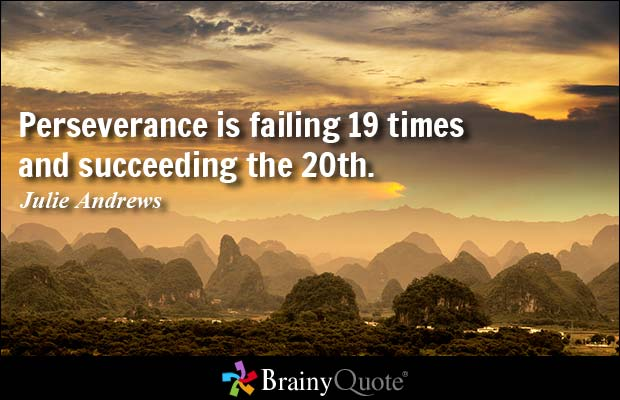 Quotes About Perseverance Meme Image 11