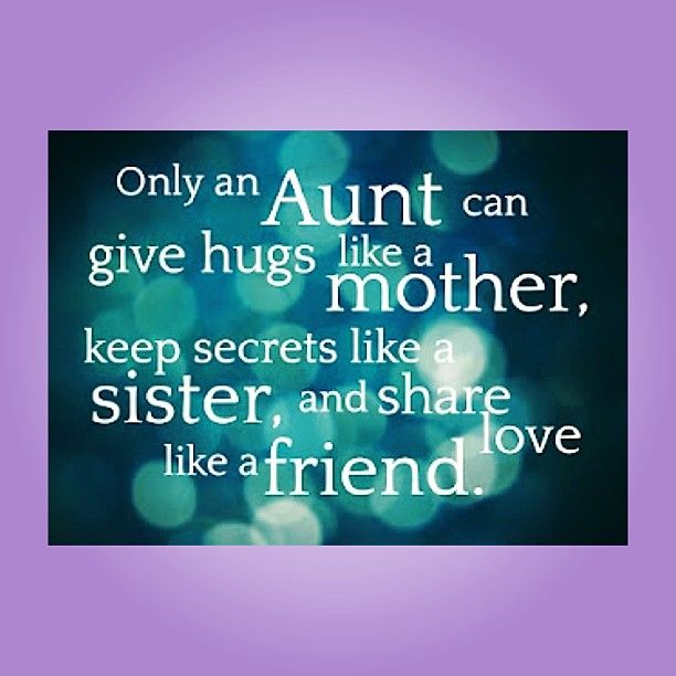 Aunt Quotes From Niece Enchanting 48 Quotes For A Aunt With Images Pictures And Photos QuotesBae