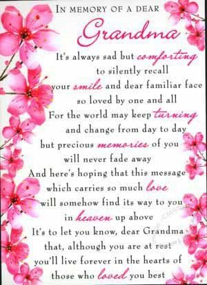 Quotes For Grandma Who Passed Away Meme Image 05 | QuotesBae