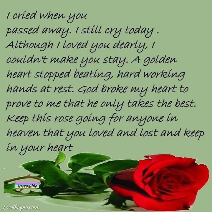 Quotes For Grandma Who Passed Away Meme Image 15 | QuotesBae