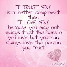 Romantic Trust Quotes Meme Image 01