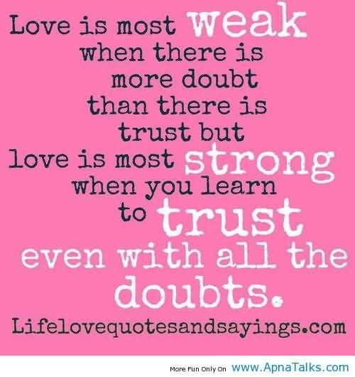 Romantic Trust Quotes Meme Image 11