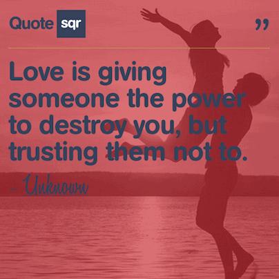 Romantic Trust Quotes Meme Image 16