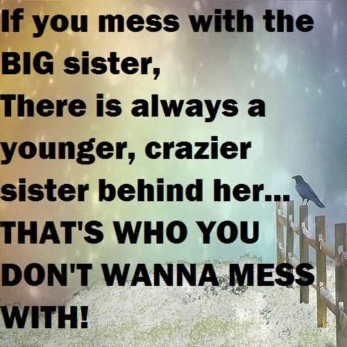 Sister Quotes Funny Meme Image 16