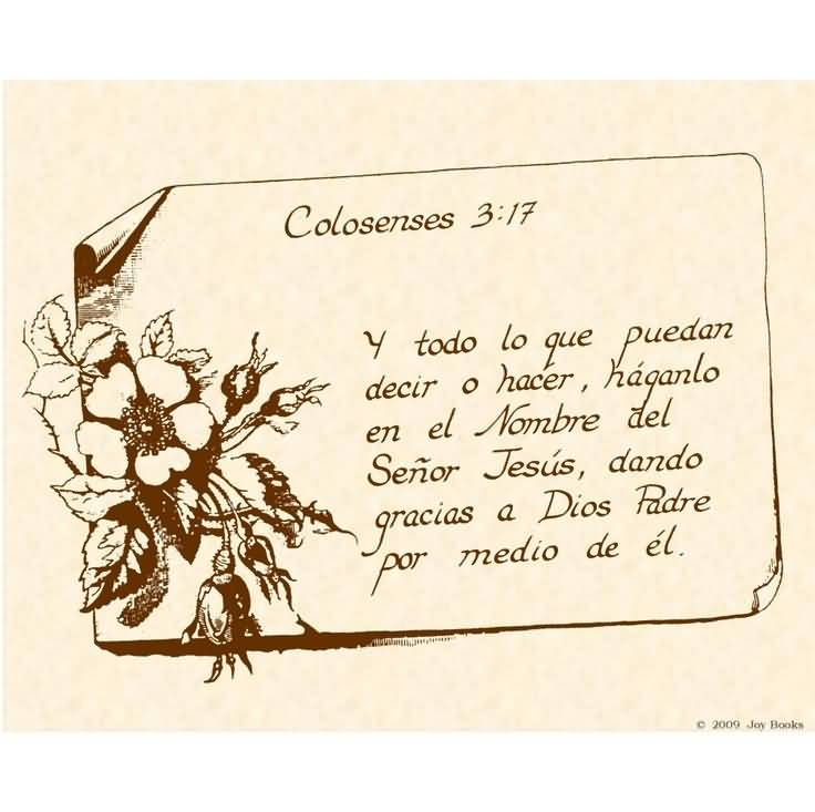 Spanish Biblical Quotes Meme Image 17
