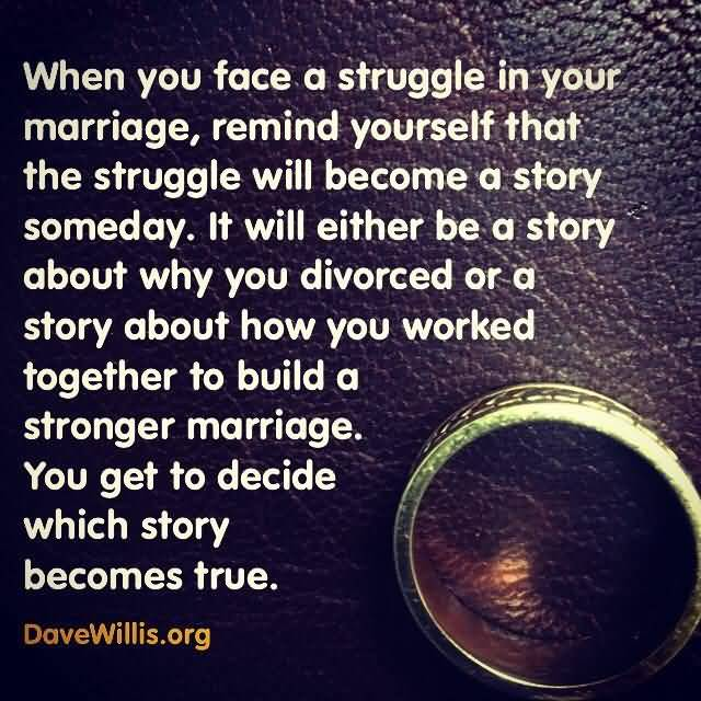 Struggling Marriage Quotes Meme Image 19