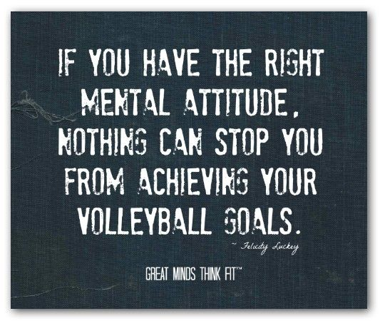 Volleyball Inspirational Quotes Meme Image 16
