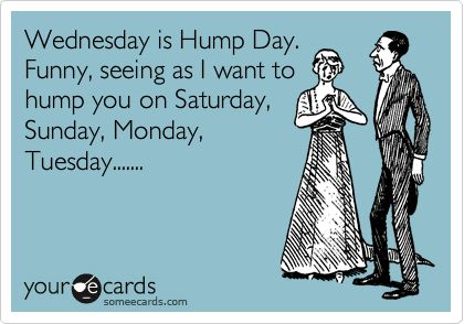 26 best hump day wish greetings images pictures quotesbae wednesday is hump day funny seeing as i want to hump you on saturday sunday m4hsunfo