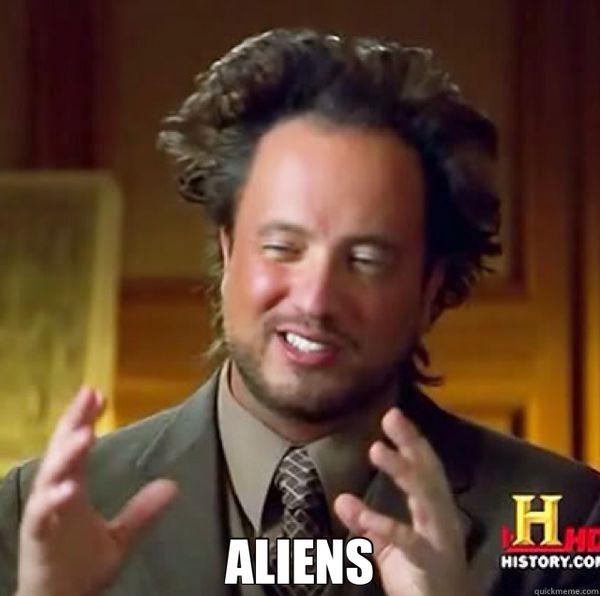 Aliens meme original image