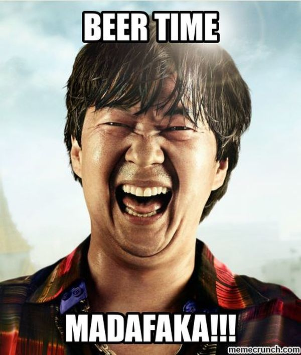 Amazing beer time meme image