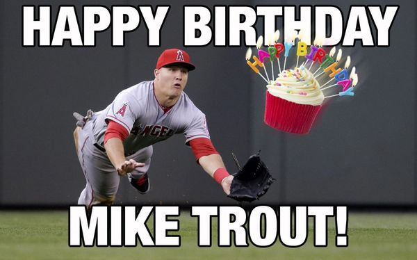 Amazing happy birthday baseball meme photo