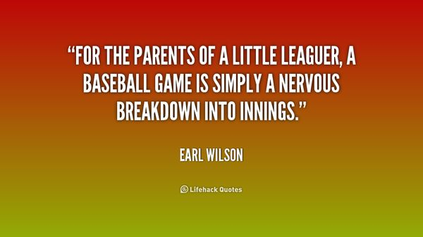 Baseball parents quotes meme