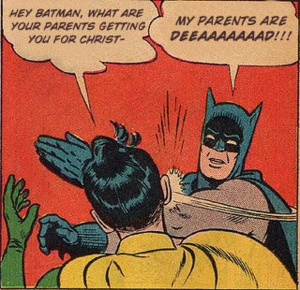 Batman Slapping Robin Original Meme