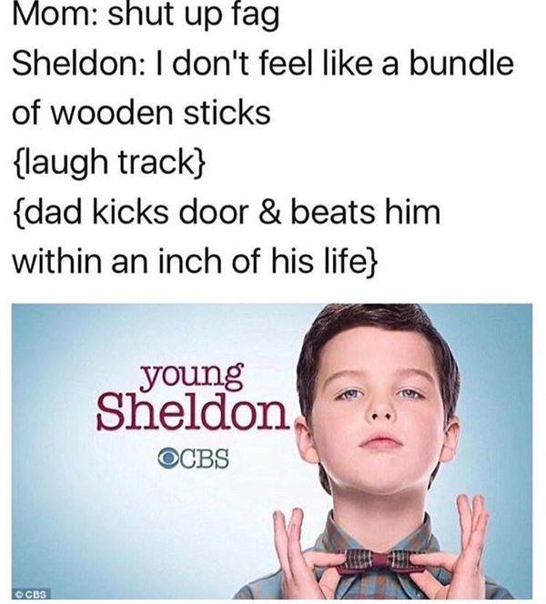 Best young sheldon meme photos
