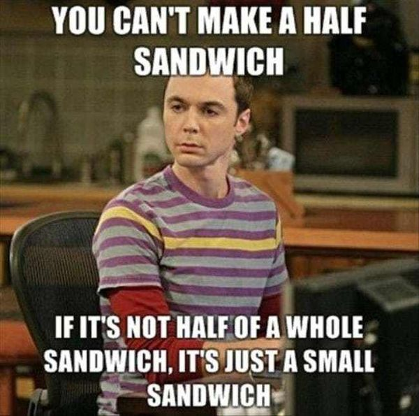 Big bang theory meme joke