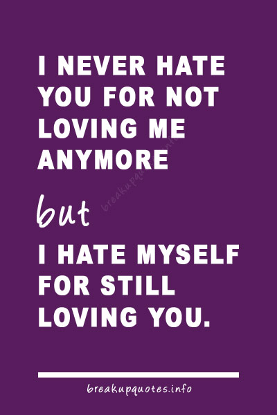 Break Up Love Quotes 11