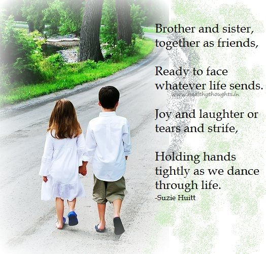 Brother And Sister Love Quotes 17