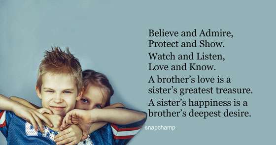Brother And Sister Love Quotes 20