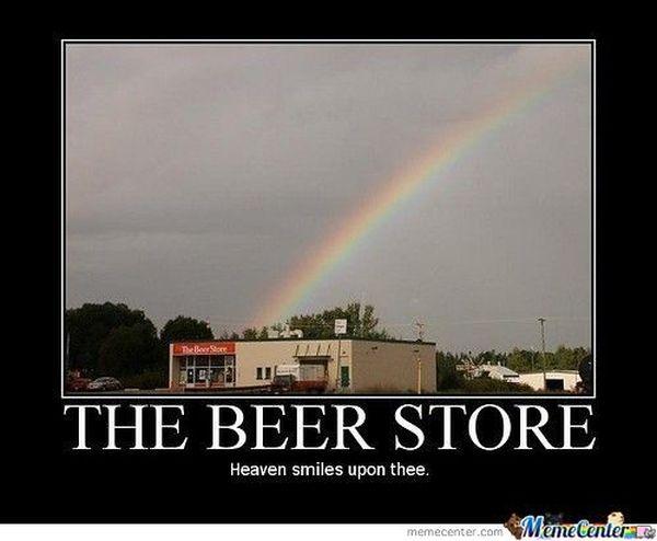 Common funny happy birthday beer meme joke