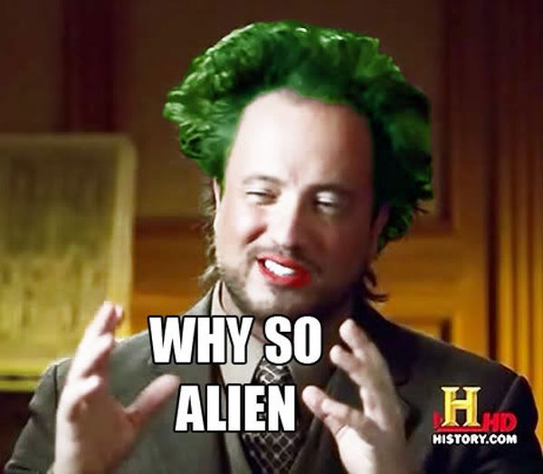 Cool aliens meme image photo