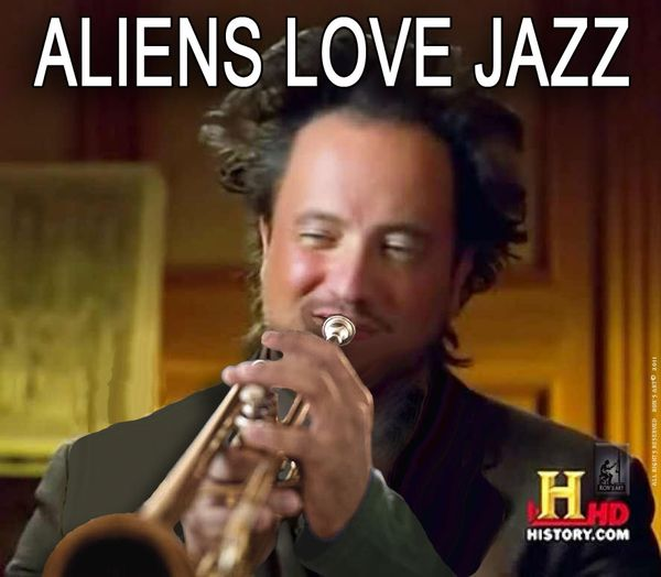 Cool aliens meme original