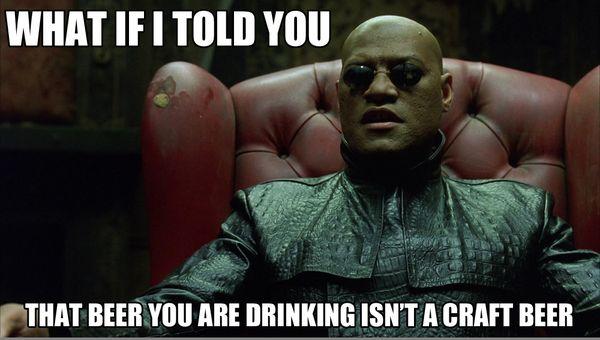 Cool craft beer meme joke