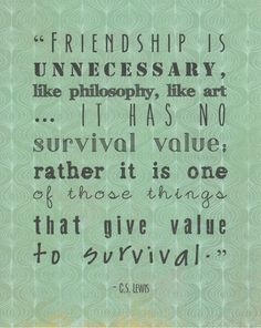 Cs Lewis Quote About Friendship 08