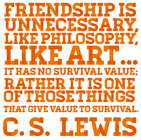 Cs Lewis Quote About Friendship 13