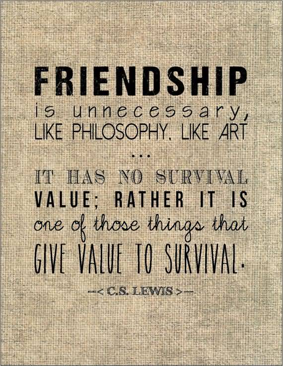 Cs Lewis Quote About Friendship 16