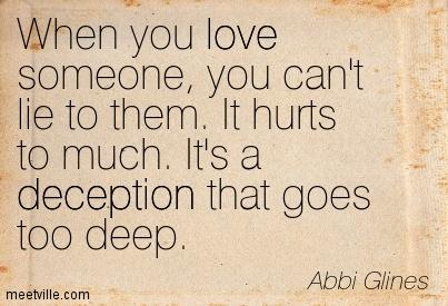 Deception Love Quotes 05 Quotesbae