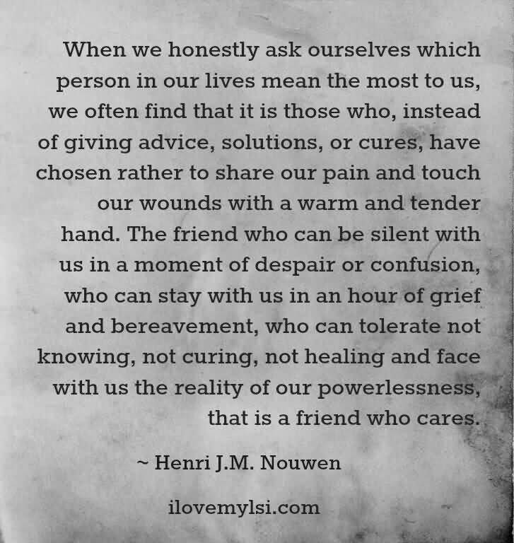 Deep Quotes About Friendship 12