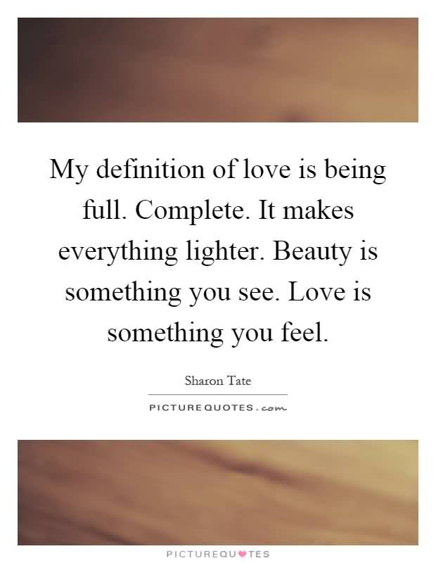 Definition Of Love Quotes 03