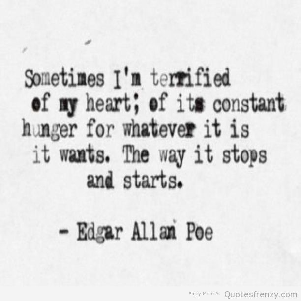Edgar Allan Poe Love Quotes 13