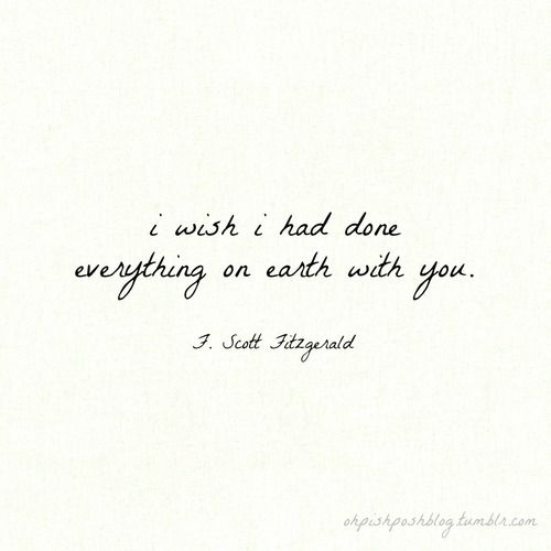 F Scott Fitzgerald Love Quote 05