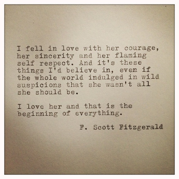F Scott Fitzgerald Love Quote 08