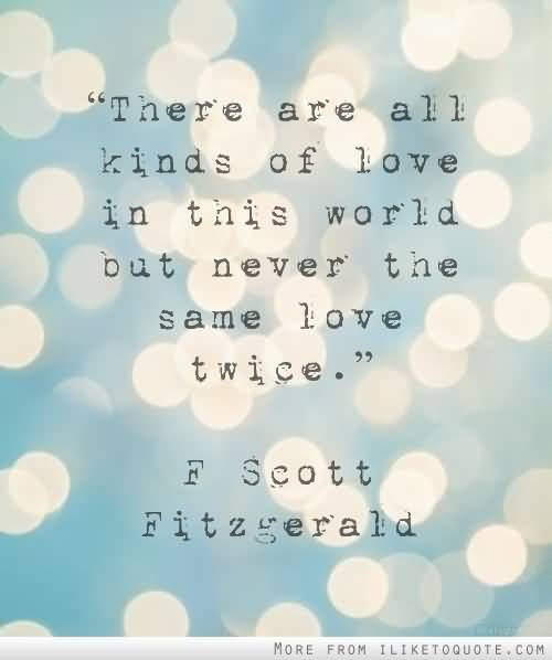 F Scott Fitzgerald Love Quote 15