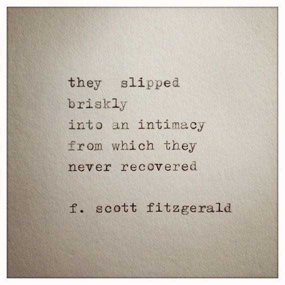 F Scott Fitzgerald Love Quote 17