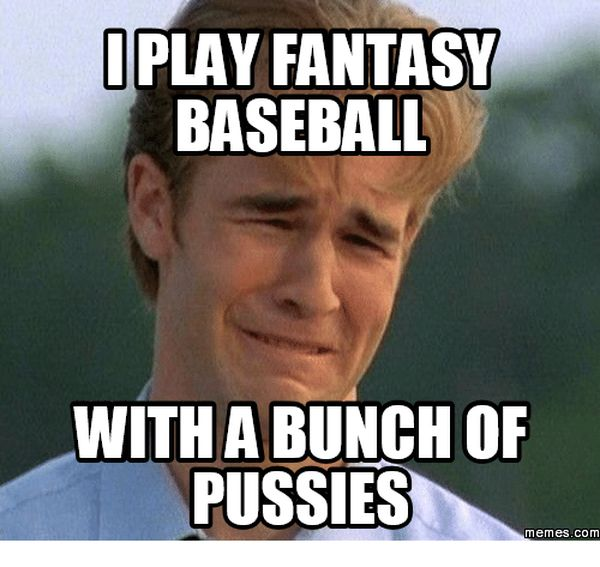 Fantasy baseball memes photo