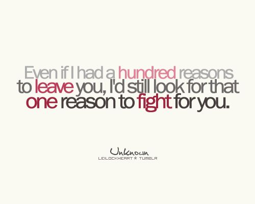 Fight For Your Love Quotes 02