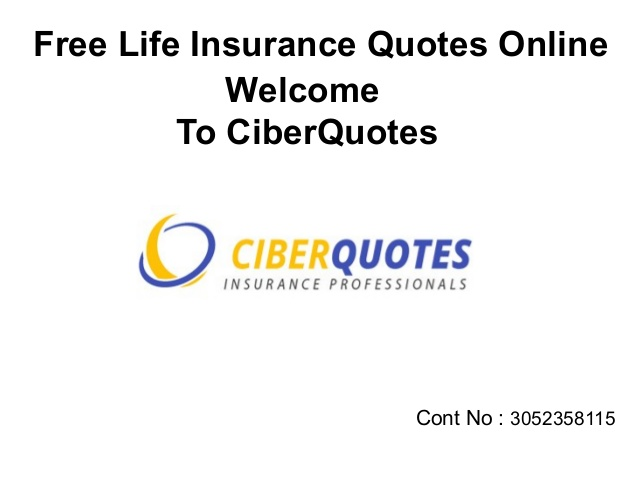 Free Life Insurance Quotes Online 06